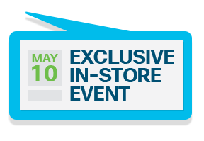 Exclusive in-store event